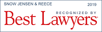 Snow Jensen & Reece Recognized by Best Lawyers | 2019